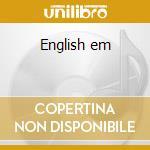English em cd musicale