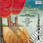 MUSICA X CLARINETTO BELCANTISTICA cd musicale