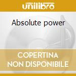 Absolute power cd musicale di Blitzkrieg