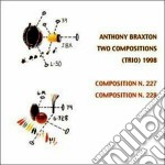 Anthony Braxton - Two Compositions 1998 cd musicale di BRAXTON ANTHONY