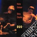 Heinz Geisser/shiro Onuma - Duo cd musicale di GEISSER HEINZ /SHIRO