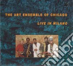 The Art Ensemble Of Chicago - Live In Milano cd musicale di ART ENSAMBLE OF CHIC