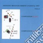 NINETET (YOSHI)'97 VOL.4 cd musicale di BRAXTON ANTHONY