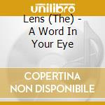 A word in your eye cd musicale