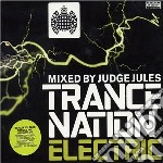 TRANCE NATION ELECTRIC MIXED BY JUDGE JU cd musicale di AA.VV.