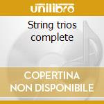 String trios complete cd musicale di Beethoven