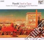 Handel Georg Friedrich - Israel In Egypt  (2 Cd) cd musicale di Handel