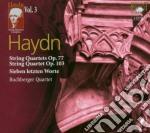 Haydn J.- Quartetti Per Archi Op.77 Fc cd musicale di Haydn