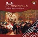 Bach J.S. - Concerti Brandeburghesi 1-2-3 cd musicale