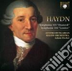 Haydn Franz Joseph - Symphonie 103 ' Drumroll', Symphonie 104'london'  - Fischer Adam Dir  /austro-hungarian Haydn Orchestra cd musicale di Haydn