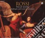 Rossi - Vocal Works cd musicale di Rossi
