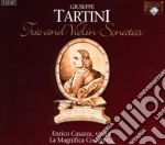 Tartini Giuseppe - Trio & Violin Sonates  (3 Cd) cd musicale