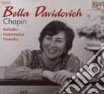 Chopin - Ballades - Impromptus - Preludes  - Marriner Neville Dir  /bella Davidovich,  Pianoforte, London Symphony Orchestra (2 Cd) cd musicale