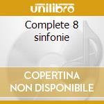 Complete 8 sinfonie cd musicale di Glazunov