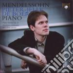Mendelssohn Felix - Sonata Per Pianoforte Op.6, Variations Serieuses E Altri Pezzi cd musicale di Felix Mendelssohn