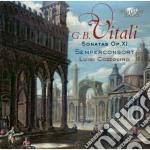 Vitali Giovanni Battista - Sonate Op. 11 Per Violino E Basso Continuo cd musicale di Vitali giovanni batt