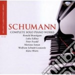 Complete piano works cd musicale di Robert Schumann
