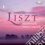 Liszt Franz - Lieder - Sonetti cd musicale di Franz Liszt