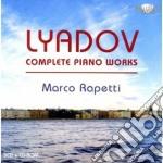 Complete piano works cd musicale di Anatol Lyadov