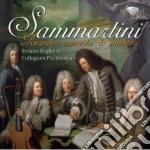 Sammartini Giuseppe - Sonata In Fa N.11, N.21, N.23, Concerto Per Flauto, Archi E Basso Continuo cd musicale di Miscellanee