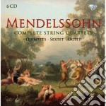 Complete string quartets quintets sext cd musicale di Felix Mendelssohn