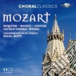Sacred choral works cd musicale di Wolfgang Amadeus Mozart