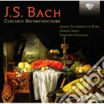 Bach J.S. - Concerto Reconstructions cd musicale di Bach johann sebasti