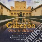 Obras de musica (integrale) cd musicale di Cabezon antonio de