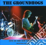 LIVE AT NEW YORK CLUB 91 cd musicale di GROUNDHOGS