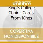 Christmas choir cd musicale di King's college choir