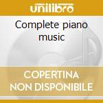 Complete piano music cd musicale