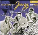 Legends of jazz 1 cd musicale di Artisti Vari
