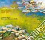 Debussy Claude - Quartetto Per Archi Op.10, Trio Per Pianoforte In Sol Maggiore  (2 Cd) cd musicale di Debussy/ravel