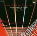 Favourite guitar concertos cd musicale di Miscellanee