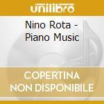 Piano music cd musicale di Nino Rota