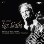 The art of ivry gitlis violin concertos cd musicale di Miscellanee