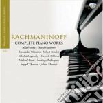 Complete piano works cd musicale di Sergei Rachmaninov