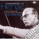 Symphonies 1-6 cd musicale di Henze hans werner