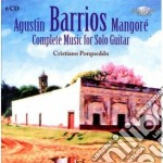 Complete guitar music cd musicale di August-n Barrios