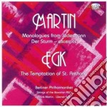 Martin Frank - 6 Monologues From Jedermann - Three Excerpts From 'der Sturm' cd musicale di Martin Egk