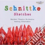Schnittke Alfred - Sketches cd musicale di Alfred Schnittke