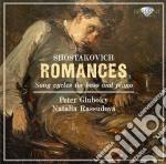 Sciostakovic Dmitri - Romances cd musicale di Dmitri Sciostakovic
