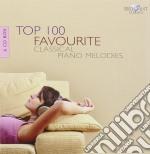 Top 100 favourite classical piano melodi cd musicale di Miscellanee