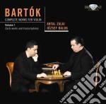 Complete works for violin vol. 1 cd musicale di Bela Bartok