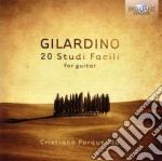 Gilardino Angelo - 20 Studi Facili Per Chitarra cd musicale di Angelo Gilardino