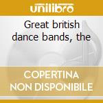 Great british dance bands, the cd musicale