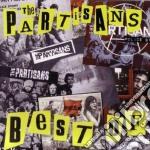 BEST OF PARTISANS                         cd musicale di PARTISANS