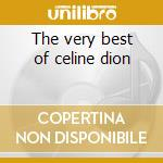 The very best of celine dion cd musicale di Studio 99