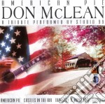 Studio 99 - Don Mclean Tribute cd musicale di Studio 99