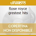Rose royce grestest hits cd musicale